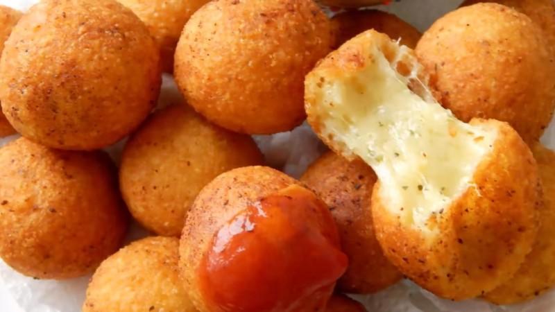Блюдо сырные шарики