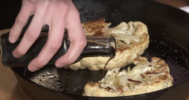 бифштекс из цветной капусты от валери турпин видео